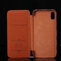 Diseñador Fashion Wallet Fundas para teléfono para iPhone 12 12PRO MAX 11PRO XS XR XSMA Tapa superior de cuero Tags de metal de lujo Tapa de teléfono celular
