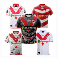 2019 2020 St George RUGBY JERSEY Trikot St George Illawarra XBLADES DRAGONS Trikot 2019/20 National Rugby League St. George Trikot Größe s-3XL