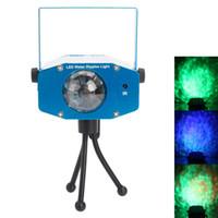9W 3 RGB LED إضاءة الليزر السيارات التحكم الصوت فلاش المحيط موجة الصمام المرحلة شريط مصباح AC 85-265V الأزرق
