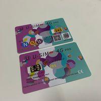 USIM LTE 4G 프로 잠금 해제 SIM 카드와 3M 접착 스티커 아이폰 6 세대 7 세대 8 X XS XR XS 최대 11 프로 맥스