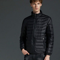 Casual Male Solid Color Jackets Mens Designer New Down Coat ...