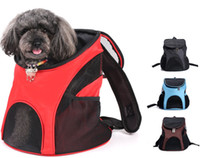 4 Colors Pet backpack out portable dog and cat bag breathabl...