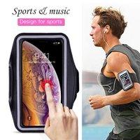الرياضة تشغيل الهاتف حقيبة القضية لمدة 11 برو 2020 XS ماكس XR X 4S 5 SE 5S فون 6 7 8 6S بالاضافة الى تغطية فرقة حامل القضية على اليد