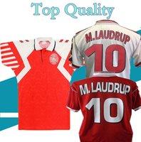 الرجعية الدنمارك لكرة القدم الفانيلة 1992 1998 الدنمارك الرئيسية بعيدا هيينز B.Laudrup M.Laudrup 92 98 قميص كرة القدم