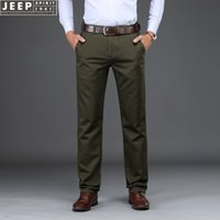 SPIRIT Autumn Brand Business Casual Pants Men Tencel Fabric ...