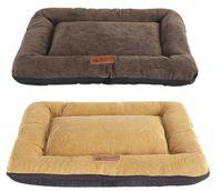 Perro de mascota suave cama caliente del gato Casa lavable Inicio Manta grande cama del perro de la perrera del amortiguador del colchón suave cajón Mat Gatos Almohada Cama Funda Perro