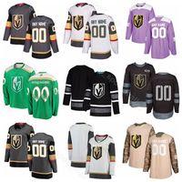 Vegas Golden Knights Custom Hockey 6 Colin Miller Jersey 26 Paul Stastny 73 Brandon Pirri 40 Ryan Carpenter 3 Brayden McNabb يحارب السرطان
