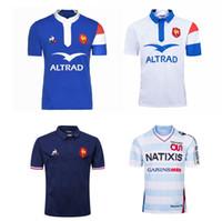 2018 -2019 França Polo Rugby Shirt Camisa Jersey S-XXXL Qualidade superior Frete Grátis
