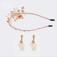 Nowe ręcznie robione nakrycia głowy koreańskie kolczyki Bajki SEN Kolczyki, kolczyki, obręcze do włosów, kryształowa korona