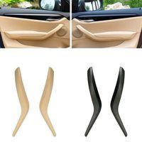Poignées de porte intérieure de voiture droite gauche pour BMW X1 E84 10-16 portes intérieures Panneau de panneau de poignée de la barre de garniture de traction avant arrière arrière