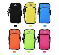 Spor Kol Bandı Koşu Koşu Gym 4-6 inç Akıllı Telefonlar Koşu Kol Bandı Kılıfı Tutucu Çanta Kılıf samsung galaxy s9 artı iphone x xiaomi