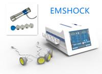 Multifuncional 2 em um músculo EMS electrónico Estimulador da onda de choque onda de choque celulite / focalizado máquina de terapia por ondas de choque