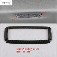 Accesorios Lapetus en forma para el Corolla 2019 2020 Asiento trasero ABS marco superior del techo de lectura enciende la lámpara de moldeo kit de la cubierta del ajuste