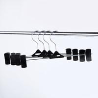 Kunststoff-Metallhose-Rack mit Clip-Anti-Rutsch-Wäscheklammer-Hosen-Klemmkleidaufhänger