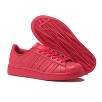 Superstar White Holographic Rainbow Color Teen Superstar 80s...