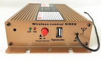 Высокое качество X5 DC12V 400W беспроводной сирены полицейских автомобилей усиливает предупреждение сигнализации с дистанционным для полиции скорой помощи пожарной машины (без громкоговорителя)