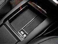 مسند ذراع صندوق تخزين للحصول تسلا موديل S X غطاء حامل 2014-2017 وحدة التحكم المركزي