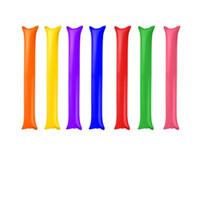 Party Inflacja Strike Cudgel Sportowe Spotkanie Cheerleaderek Publiczność Wystawa Stick Urodziny Przyjęcia Nadmuchać Long Strip Sticks Moda 0 18WW L1