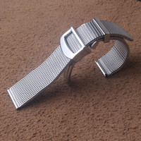 maille ceinture 20 mm 22mm qualité bracelet remplacement en acier inoxydable série IWC bracelet en forme portugieser bracelet de montre-bracelet avec fermoir