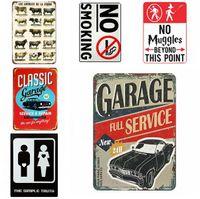 Placas de lata Champion Motos Cerveja Route 66 Vintage Wall Art TIN retro sinal do metal Pintura ART Bar Cave Man Pub Restaurant decoração Home