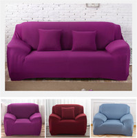 Solid Color Slipcover Elastic Sofa Cushion Chair Covers Wash...