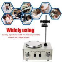 Sıcak Plaka Manyetik Karıştırıcı Lab Isıtma 79-1 110/220 V 250 W 1000 ml Çift Kontrol Mikser ABD / AU / AB Hiçbir Gürültü / Titreşim Sigortaları Koruma