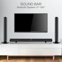 Televizyon PC için 50W Ayrılabilir Wireless bluetooth Soundbar'ın Bass Hoparlör 3D Surround HIFI Ses çubuğu Stereo Bass Subwoofer Ev Sinema