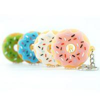 도매 도넛 스타일 실리콘 작은 석유 버너 파이프 공예 다채로운 손으로 파이프 파이렉스 키 체인 금속 그릇 000 파이프 흡연