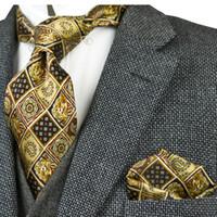 مطبوعة خمر العلاقات الزخارف متعدد الألوان 100٪ مجموعات الحرير الرجال ربطة العنق التعادل الطباعة 10CM أزياء العلامة التجارية الجديدة عارضة الرسمي حفل زفاف