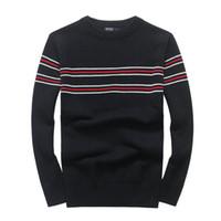 유럽 스웨터 새로운 고품질 마일 책략 폴로 브랜드 남성의 트위스트 스웨터 니트면 스웨터 점퍼 풀오버 스웨터 작은 말 게임