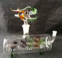 Tubo cruzado con faucet Hookah Bongs Bongs Accesorios, Tubos de fumar de vidrio Colorido Mini Mini Multi-Color Tubos de mano Mejor tubo de vidrio de cuchara