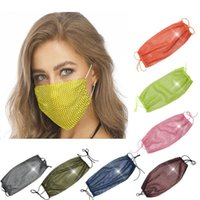 Shining Party Face Mask Women Breathable Dustproof Reusable ...