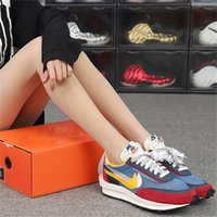 19SS Nike LDV Waffle Sail Gusto 3.0 Nylon Daybreak Double Basket Red Chitose Abe Trainers LeBron James Designer Luxury Men Women Canvas Shoes Sneakers Jogging Shoes 36-45