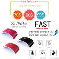 New SUN9SE 24W UV Lamp LED Nail Dryer USB Chargeable Double ...