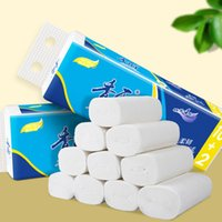 White Toilet Paper Roll Tissue Pack Of 12 Thicken 4Ply Towel...