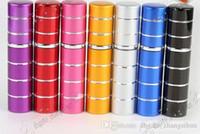 Linha de 8ml Novo Hot Selling Recarregável Portátil Mini Perfume Viajante Viajante Spray de Alumínio Atomizador Vazio Parfum Garrafa de Parfum Qualidade