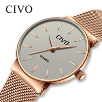 CIVO New Top Brand Luxury 2019 Ladies Waterproof Mesh Strap ...