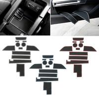 자동차 고무 도어 게이트 슬롯 매트 컵 Ford Mustang 15+ 인테리어 액세서리 용 미끄럼 방지 매트