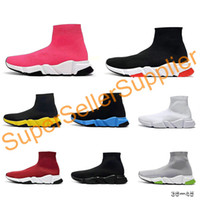 Balenciaga Sock shoes Luxury Brand Runner Sock Original sapata Running Shoes instrutor Sneakers corrida sapatos Mens Mulheres Sports Sem Box