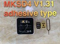 DHL gratis 3M adhesivo MKSD VSIM V5 Tarjeta de desbloqueo Auto para IP12 11 XS MAX XR X XS 8 7 6 6S PUTX PLUS 5S SE GEIYE PRO