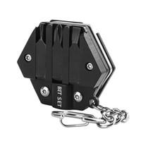 حار بيع عملة سكين متعددة الوظائف مفك مسدس الجيب EDC التخييم في الهواء الطلق أدوات الصيد البسيطة المحمولة المخلب السكاكين شحن سريع مجاني