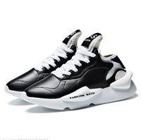 Venda quente Y3 Shoes Men Moda HipHop Sneakers Mens Y-S Designer Preto Branco Amarelo calçados casuais Tamanho 39-44
