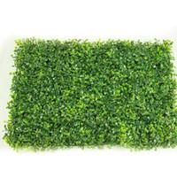 1 개 40 * 60 센치 메터 인공 잔디 식물 벽 가짜 잔디 가짜 밀라노 잎 잔디 인공 단풍 홈 정원 장식 녹지