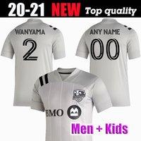 2020 2021 hommes Impact de Montréal et kit enfants SOCCER MAILLOTS Taïder 8 Piatti 10 Krkic 9 QUIOTO PIETTE 6 2021 JERSEY T-SHIRT DE FOOTBALL
