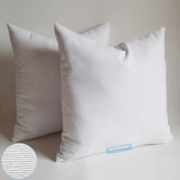 Все размеры 8 унций натуральный белый полу белый цвета хлопок холст наволочка пустой наволочка для вышивки / трафаретной печати / краски