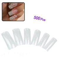 500 Pcs Half False Nail Art Painting Nail Tips