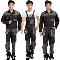Artı Boyutu Erkekler Bib Çalışma Pantolon Tulum Erkek İş Giyim Üniformaları Moda Takım Genel İşçi Tamirci Askı Tulumlar