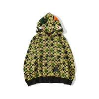 New Autumn Men Women Personality Terry Light Green Camo Hip ...