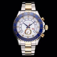TOP Designer Watch 44mm Automatic Movement Mechanical Gold M...