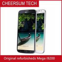 Original Samsung Galaxy Mega 6.3 i9200 Mobiltelefon Wi-Fi NFC 3G 8.0mp kamera 16gb renoverad mobiltelefon